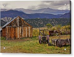 Spanish Peaks Ranch 2 Acrylic Print by Charles Warren