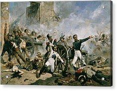 Spanish Uprising Against Napoleon In Spain Acrylic Print