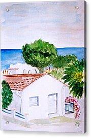 Spanish Vacation Acrylic Print