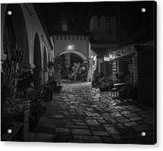 Spanish Village Acrylic Print