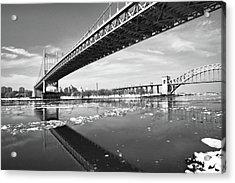 Spanning Bridges Acrylic Print