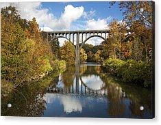Spanning The Cuyahoga River Acrylic Print