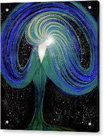 Spark Of Life V2 Acrylic Print by NARI - Mother Earth Spirit