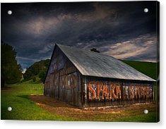 Spark Stoves Barn Acrylic Print
