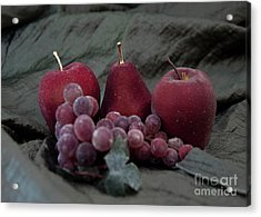 Acrylic Print featuring the photograph Sparkeling Fruits by Sherry Hallemeier