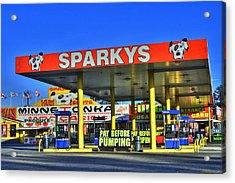 Sparkeys Acrylic Print