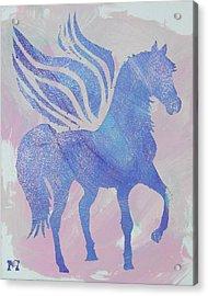 Sparkle Pegasus Acrylic Print