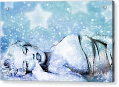 Acrylic Print featuring the digital art Sparkle Queen by Greg Sharpe