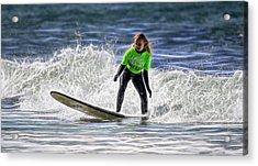 Sparkle Surf Acrylic Print