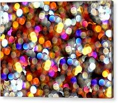 Sparkles #8885_4 Acrylic Print by Barbara Tristan