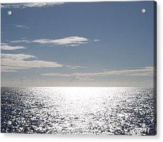 Sparkling Ocean Acrylic Print