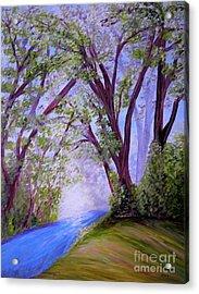 Sparkling River Acrylic Print by Eloise Schneider