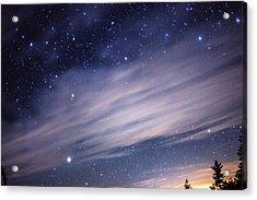Sparkling Sky  Acrylic Print