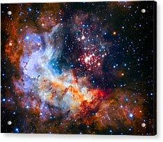 Sparkling Star Cluster Westerlund 2 Acrylic Print