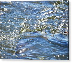 Sparkling Waters Acrylic Print