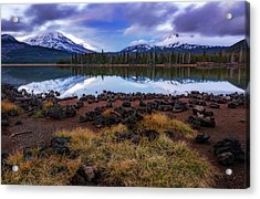 Acrylic Print featuring the photograph Sparks Lake by Cat Connor