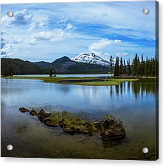 Sparks Lake, Oregon Acrylic Print