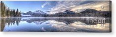 Sparks Lake Splendor Acrylic Print by Twenty Two North Photography