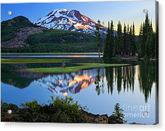 Sparks Lake Sunrise Acrylic Print by Inge Johnsson