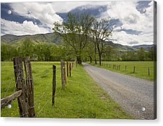 Sparks Lane In Cade Cove Acrylic Print by Ken Barrett