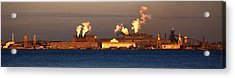 Sparrows Point Steel Mill Maryland  Acrylic Print by Wayne Higgs