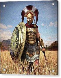 Spartan Hoplite - 02 Acrylic Print