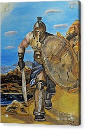 Spartan Warrior One Of The Three Hundred Acrylic Print