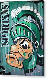Spartans Acrylic Print by Julia Pappas