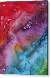 Speak To Me 2 By Madart Acrylic Print by Megan Duncanson
