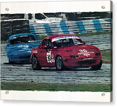 Spec Miata 1 Acrylic Print by James Haas