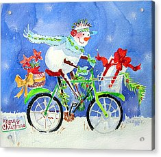 Special Delivery Acrylic Print by Suzy Pal Powell