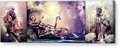 Special Edition Three In One Panel Love Set Acrylic Print by Cameron Gray