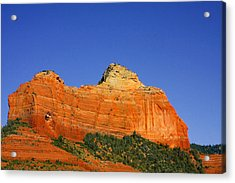 Spectacular Red Rocks - Sedona Az Acrylic Print by Christine Till