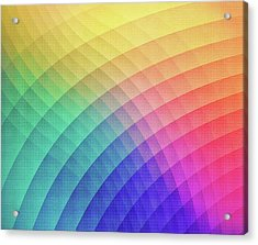 Spectrum Bomb Fruity Fresh Hdr Rainbow Colorful Experimental Pattern Acrylic Print by Philipp Rietz