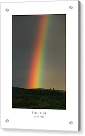 Acrylic Print featuring the digital art Spectrum by Julian Perry