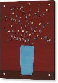 Spectrum Of Foliage Acrylic Print by Sandy Bostelman