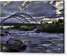 Speer Blvd Bridge Acrylic Print