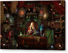 Spellbound Acrylic Print by Cassiopeia Art