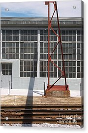 Spencer Shops Wall Acrylic Print by Robert M Seel