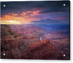 Spendid Light // Grand Canyon National Park  Acrylic Print