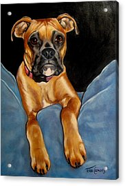 sPepper Acrylic Print by Terri Clements