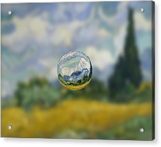 Sphere 7 Van Gogh Acrylic Print