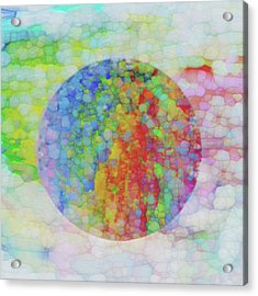 Sphere Acrylic Print by Jack Zulli