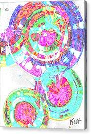 Sphere Series 965.030812vsscinvx3fddfx3 Acrylic Print by Kris Haas