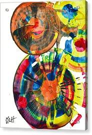 Sphere Series 967.030812 Acrylic Print by Kris Haas