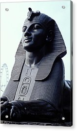 Sphinx In London Acrylic Print by Carl Purcell