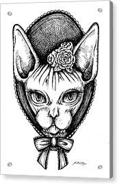 Sphynx Lady Acrylic Print