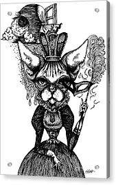 Sphynx Queen Acrylic Print