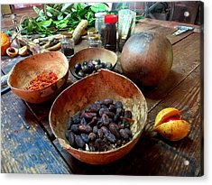 Acrylic Print featuring the photograph Spice Of Life by Jean Marie Maggi