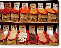 Acrylic Print featuring the photograph Spices  by Harry Spitz